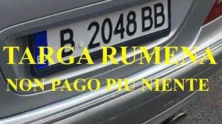 """TARGA RUMENA E NON PAGO NIENTE VEDETE ANCHE:"""" PARTE 2""""!!!"""