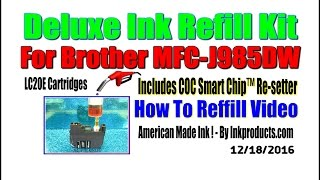 Ink Refill Kit For Brother MFC…