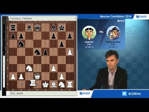 Giri-Caruana, Candidates Chess 2016: Analysis by Loek van Wely