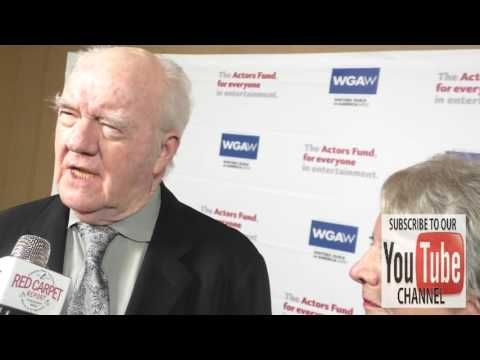 Richard Herd talks about how to make it in acting at The Actors Fund's Tony Awards Viewing Gala at T
