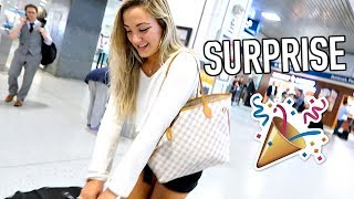 GOING HOME + EXCITING SURPRISE!