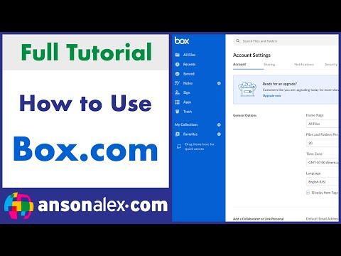 Box.com Tutorial 2015 - Quick Start