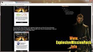 Get Free Deus Ex Human Revolution Explosive Mission Pack DLC
