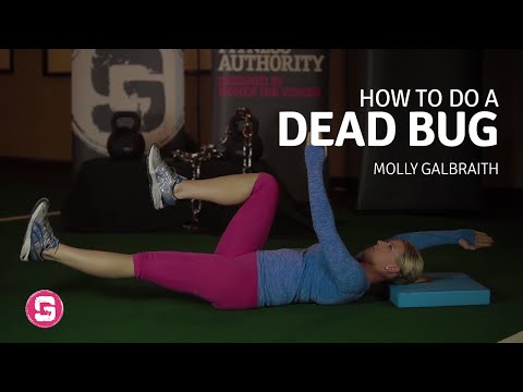 Dead Bug How To Do This Challenging Core Exercise