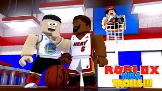 ROBLOX Adventure - TROLLED BY THE NBA ALL STARS!!!