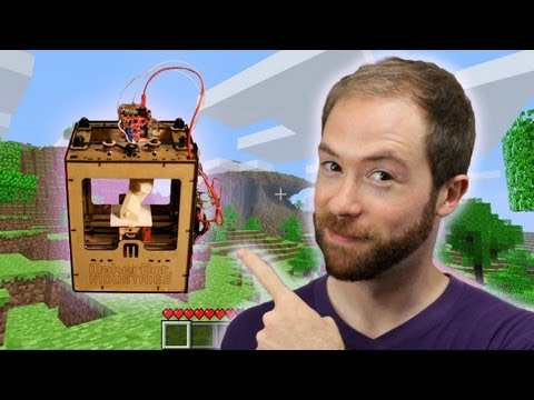 Will Minecraft and Makerbot Usher in the Post-Scarcity Economy? | Idea Channel | PBS Digital Studios