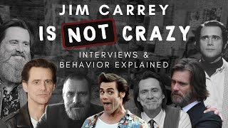 Jim Carrey is NOT CRAZY  Interviews & Behavior Explained