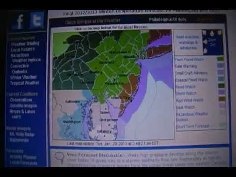 Flash flood watch issued for portions of central Pa.