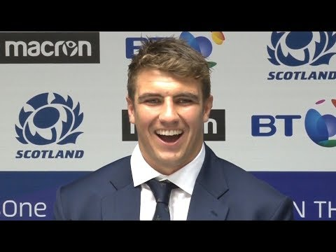 Scotland v Fiji - Sam Skinner Talks About Scotland Debut - Post Match Press Conference