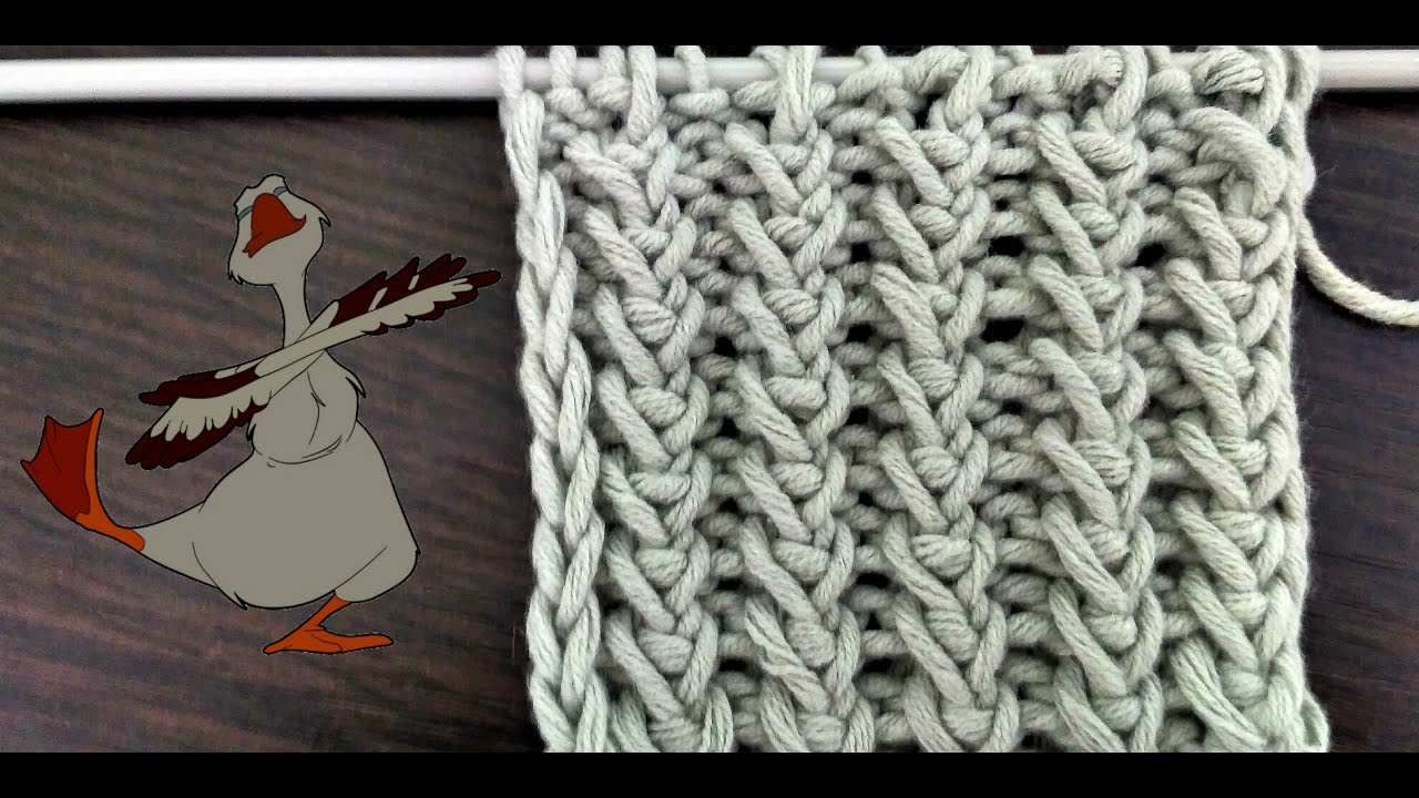 Как вязать узор гусиные лапки спицами схема и описание