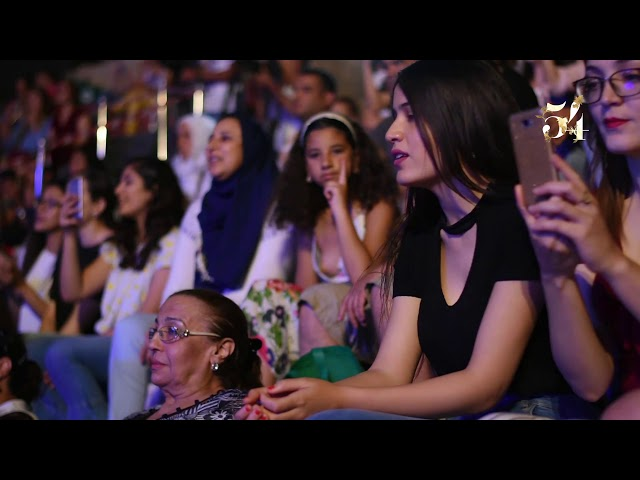 سهرة #ابو و #ياسمين_علي على ركح مسرح مهرجان قرطاج