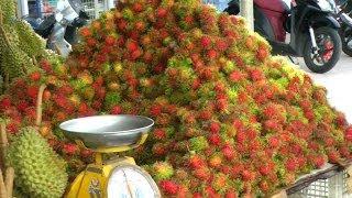A Rambutan - Lychee Fruit Comparison | Nephelium lappaceum