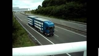Scania R 500 \8/ Bétaillère sur L'A11