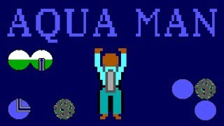 LGR - Aquaman - DOS PC Game Review