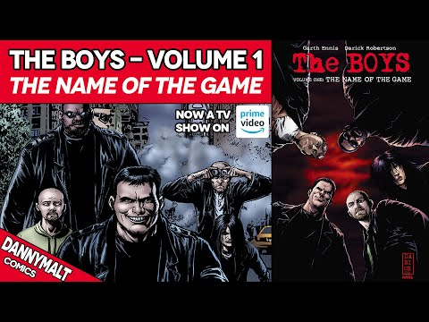 The Boys - Volume 1: The Name Of The Game (2007) - Full Comic Story & Review