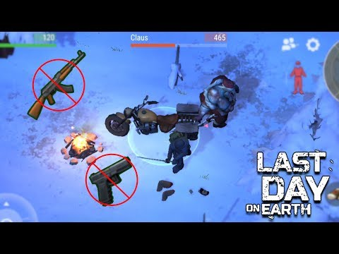 How To Kill Klaus with NO GUNS in Last Day on Earth Survival