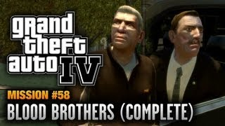 GTA 4 - Mission #58 - Blood Brothers [Complete] (1080p)