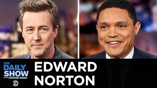 Edward Norton - A Noir Look at New York City in Motherless Brooklyn  The Daily Show