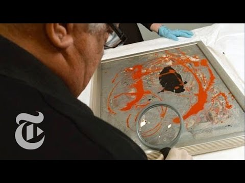 Is It a Real Jackson Pollock? | The New York Times
