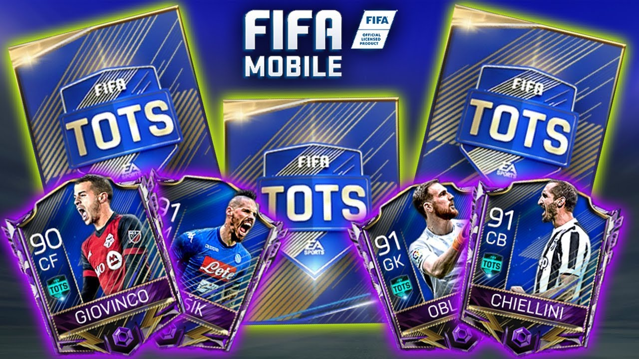 Massive Tots Pack Opening Fifa Mobile Tots Is Here