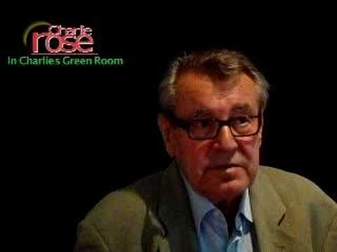 Milos Forman on Charlie Rose Tomorrow