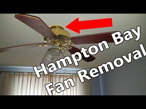 Removing Hampton Bay Ceiling Fan Canopy Www Lightneasy Net