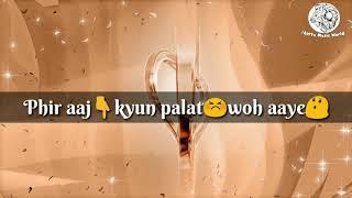 Tu Hi Hai Aashiqui Female Lyrics 💑   WhatsApp Status Videos   Bittu Music World   23 August 2017