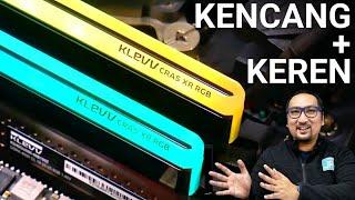 Kencang dan Keren: Review RAM Klevv CRAS XR RGB DDR4 4000