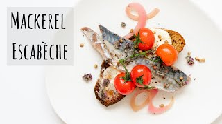 How to make a French style escabèche marinade (mackerel escabeche)