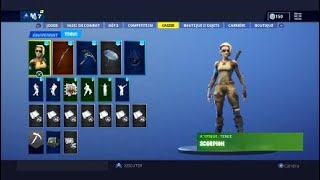 COMPTE FORTNITE TO SALE! PACK FROID ETERNEL
