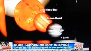 CNN AND NEWS OF LARGE PLANETOID OBJECT IN SOLAR SYSTEM 2012