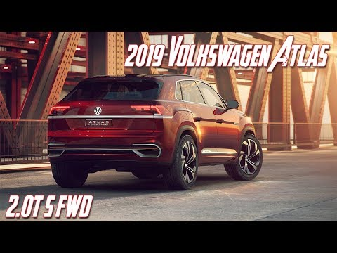 2019 Volkswagen Atlas 2.0T S FWD Review: Price, Specs & Features