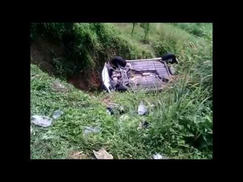 Kecelakaan mobil di BSD Serpong Tangerang