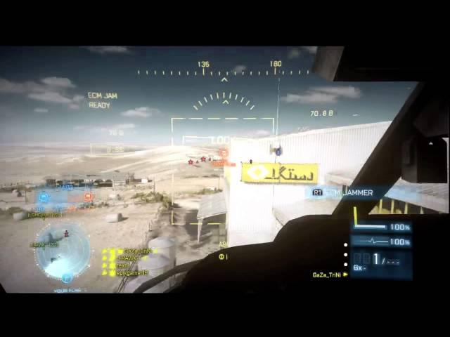 Battlefield 3 End Game (ZW-11 Gameplay)