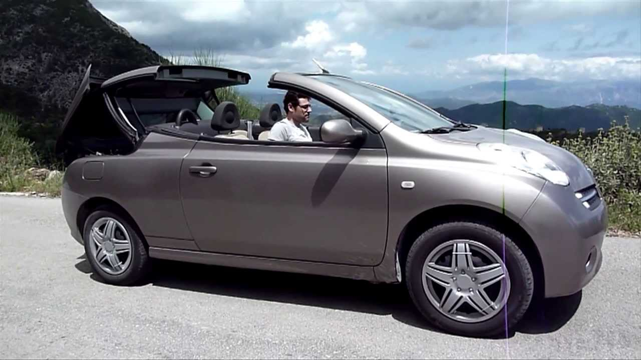 nissan micra c c convertible cabriolet roof hard top. Black Bedroom Furniture Sets. Home Design Ideas