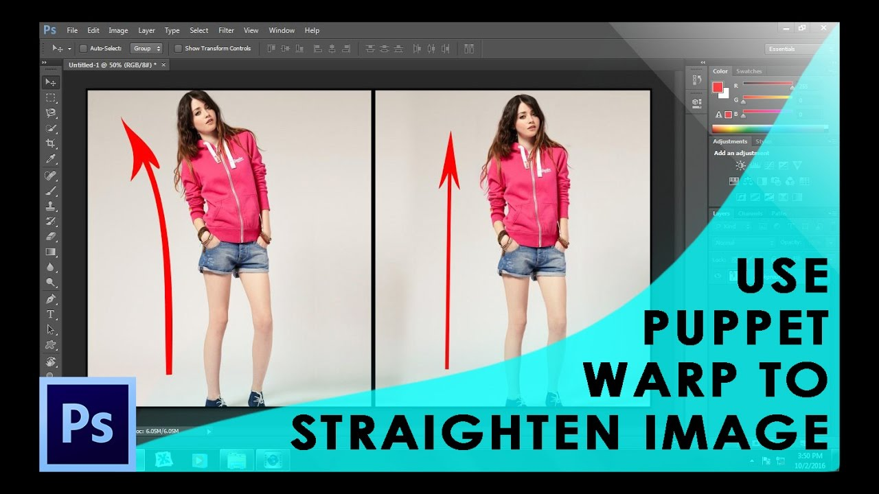 Photoshop puppet warp tutorial youtube photoshop puppet warp tutorial baditri Image collections