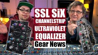 SSL SiX Channelstrip & UltraViolet EQ - Preamp & Equalizer im 500er Format   Gear News