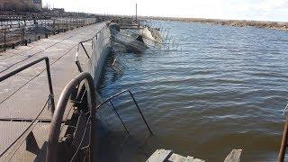 Как мы рыбхоз спасали. Утонули садки со стерлядью. Рыба на месте хоть