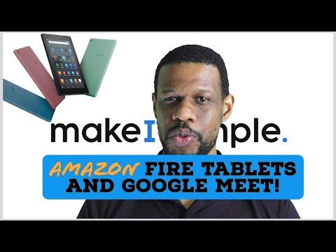 Amazon Fire Tablets vs Google meet | Online Schooling in the Caribbean