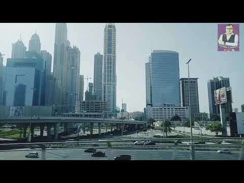 Dubai JLT to Safa Park traveling by Dubai Metro .. #dubaimetro #jltdubai #uae #rtadubai #himalkunwar