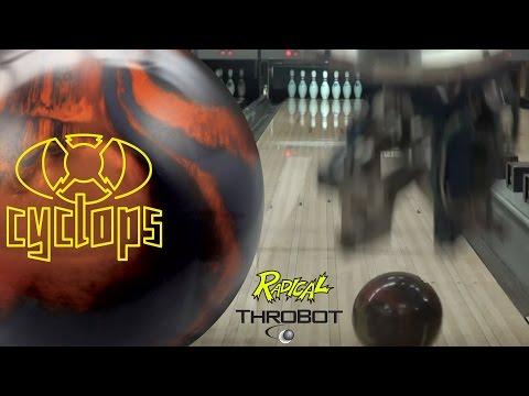Radical Bowling - Cyclops // Throbot Ball Review // URD 04-18-17