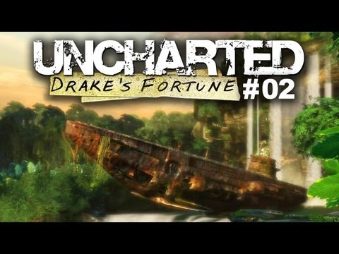Mysterious German U-Boat In The Jungle -- Uncharted #02