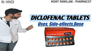 Diclofenac Sodium Tablets Ip 50mg Uses Side Effects Dose And Precautions In Hindi Youtube