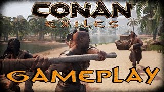 Conan Exiles GAMEPLAY - The Newest Survival Building Game
