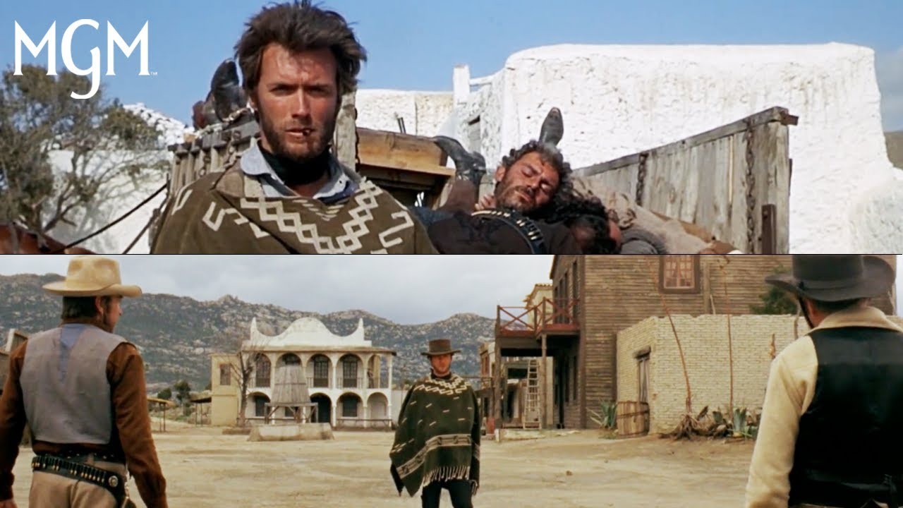 """Download Clint Eastwood as """"The Man With No Name"""" in the Dollars Trilogy   MGM"""