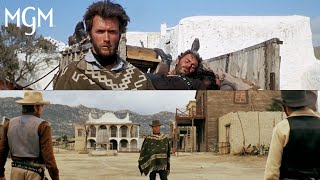 """Clint Eastwood as """"The Man With No Name"""" in the Dollars Trilogy"""