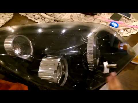 ASTRA H Headlight cleaning - internally / inside.