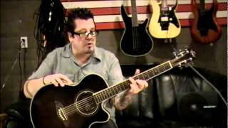 How to play Your Body Is A Wonderland by John Mayer on guitar by Mike Gross