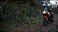 KTM 990 Adventure goes off-road!