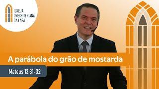 A parábola do grão de mostarda (Mateus 13.31-32) por Rev. Sérgio Lima
